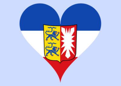 Ein Herz für Schleswig-Holstein