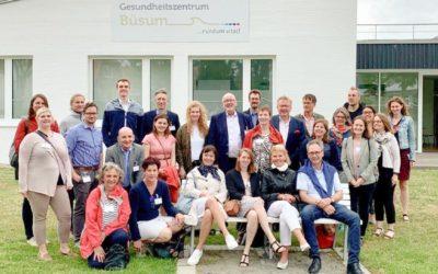 Robert-Bosch-Stiftung besucht das Ärztezentrum Büsum