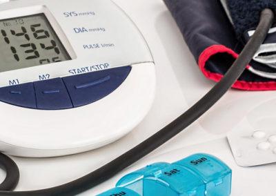 Diabetes-Vorsorge-Therapie und Hypertonie