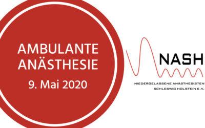 Veranstaltung: Ambulante Anästhesie 9. Mai 2020