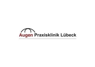 Logo Augen Praxisklinik Lübeck Eingangsbereich