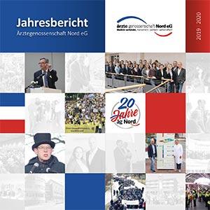 Cover des Jahresberichtes 2019/2020