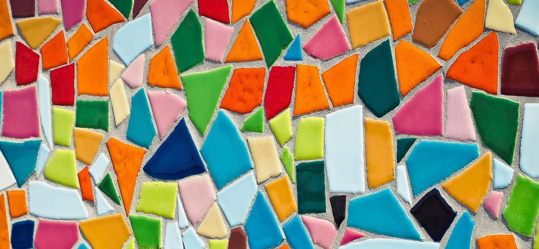 Buntes Mosaik