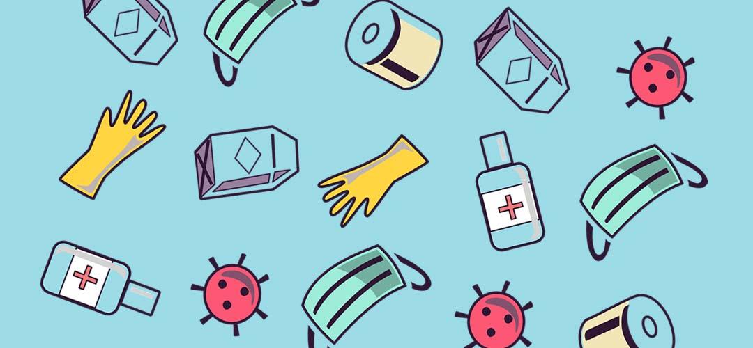 Bevorratung von Medikamenten und Schutzausrüstung