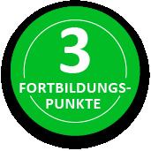 3 Fortbildungspunkte