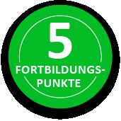5 Fortbildungspunkte