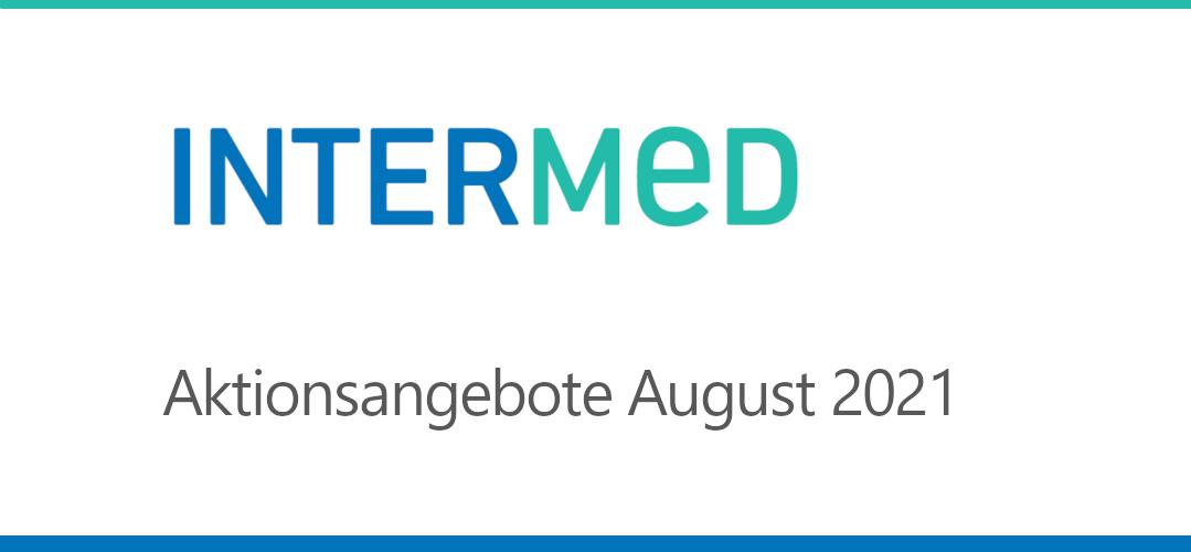 Intermed Aktionsangebote August 2021