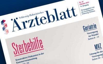 Schleswig-Holsteinisches Ärzteblatt – lesenswerte Artikel